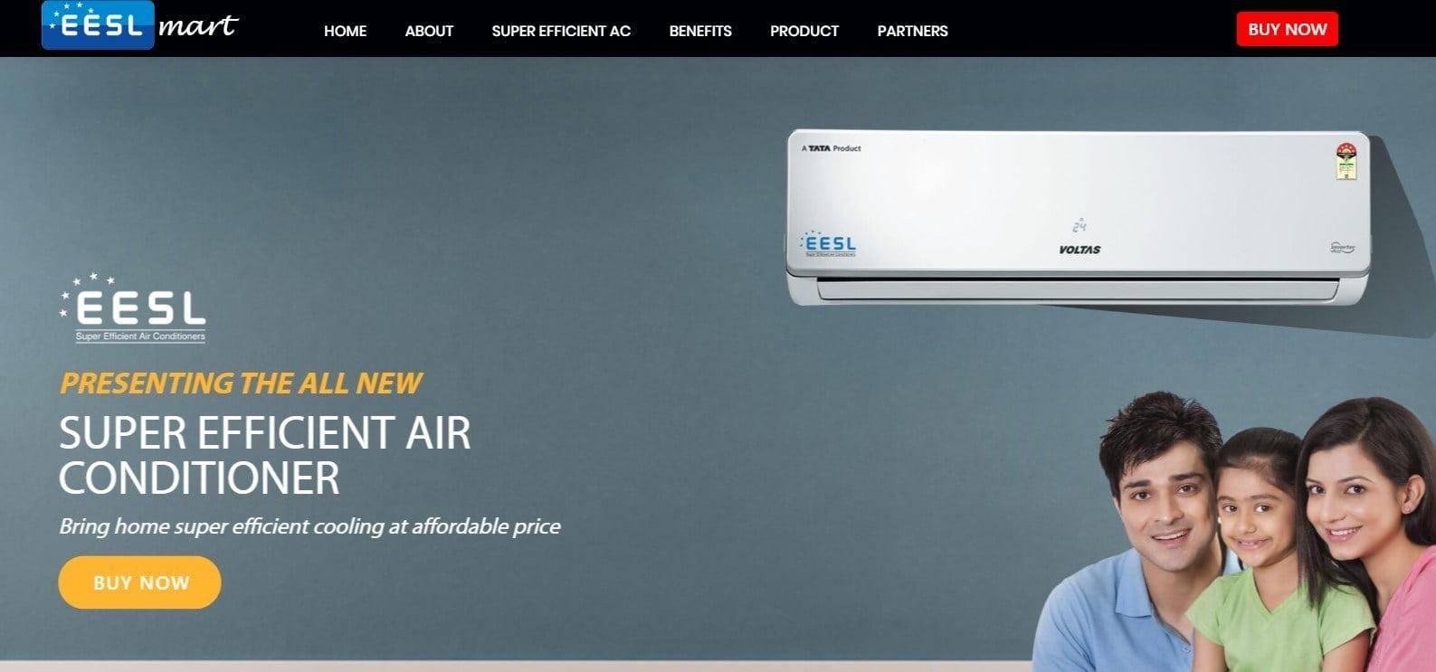 प्रधानमंत्री सस्ता एसी (एयर कंडीशनर) योजना |ऑनलाइन पंजीकरण, आवेदन फॉर्म – EESL Cheap AC Scheme