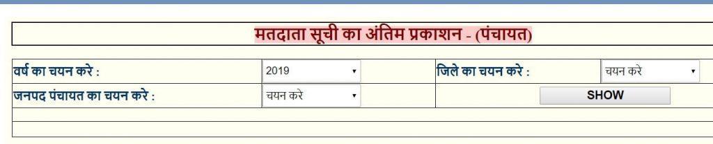 मध्य प्रदेश वोटर लिस्ट 2021| वोटर लिस्ट ग्राम पंचायत मध्यप्रदेश| MP Voter List 2021