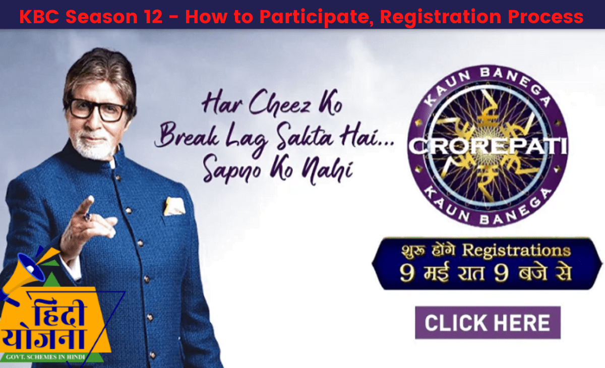KBC Season 12 Online Registration