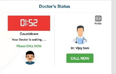 connect with doctor