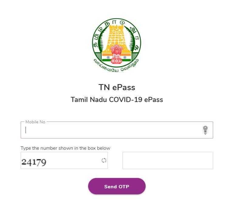 Tamilnadu Covid 19 Curfew pass, Tn E pass