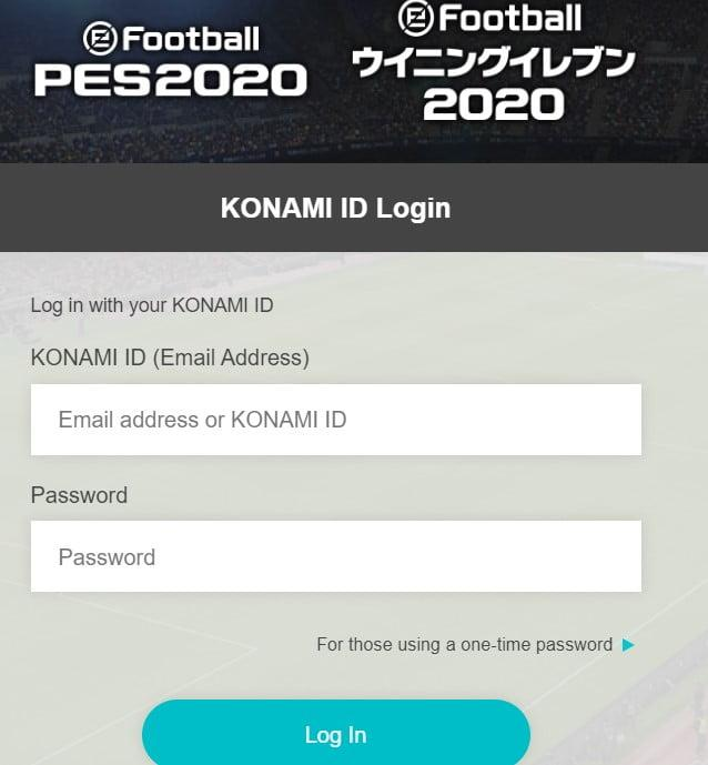PES2020 register now for the tournament