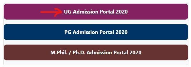 delhi du admission test registration form