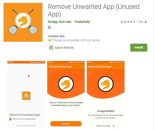 remove all china apps