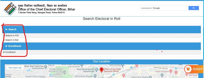 CEO Bihar Voter List 2020 | District Wise Matdata Suchi, View, Download PDF