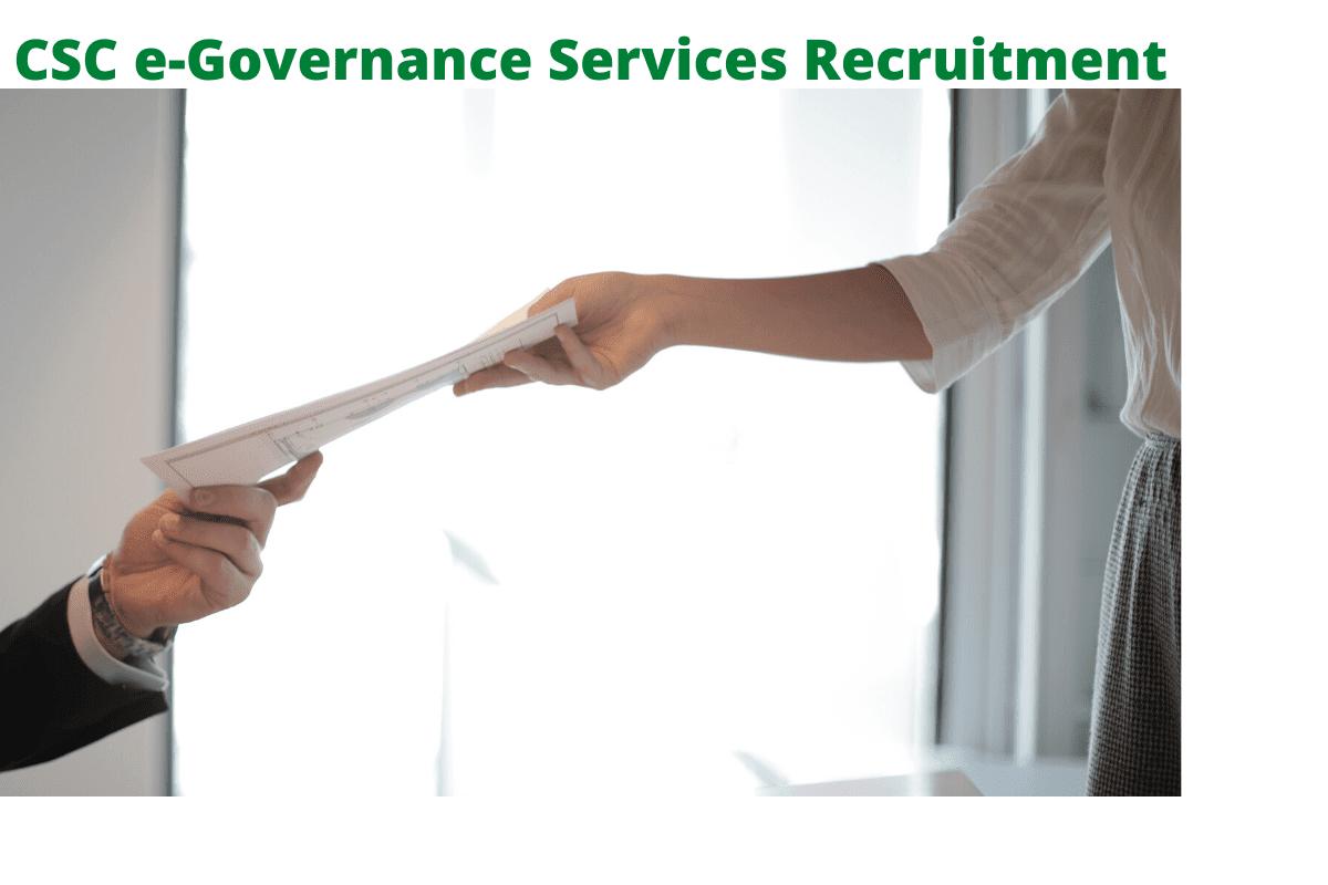 CSC e-Governance Services 2020