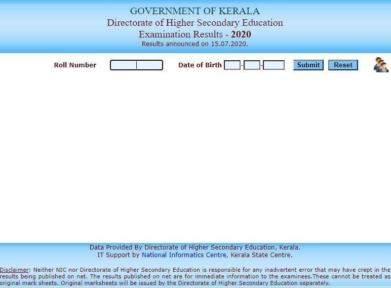 Kerala DHSC +1 Result 2021