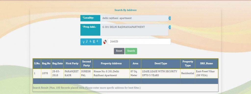 Delhi Online Property Search