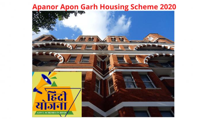 Apanor Apon Ghar HomeLoan Subsidy 2020