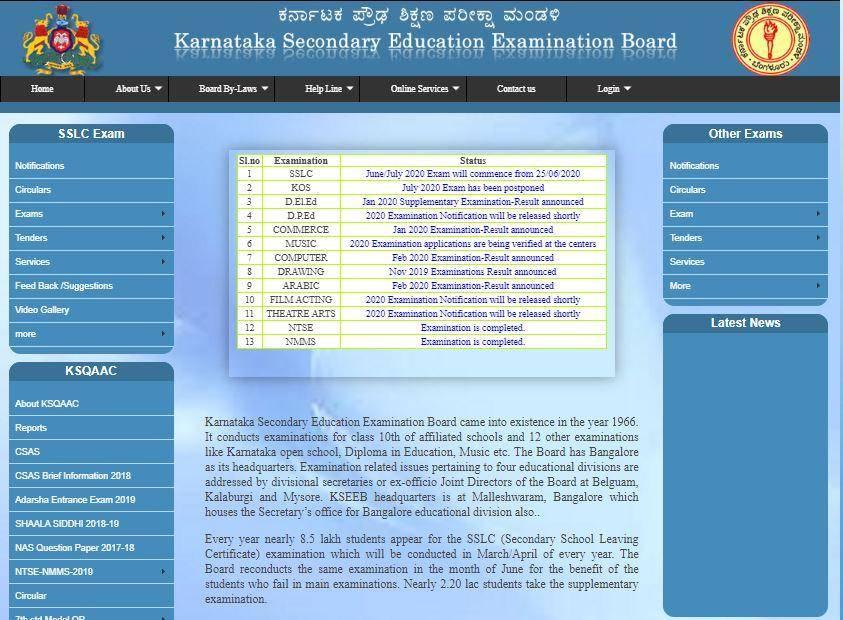 Karnataka SSLC Result 2021