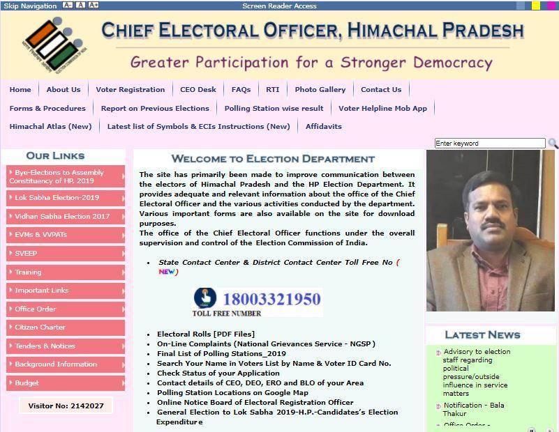 CEO HP Voter List 2020