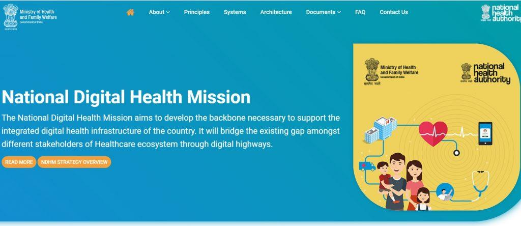 Digital Health ID Online Apply | PM Modi Unique health card yojana, apply @healthid ndhm gov