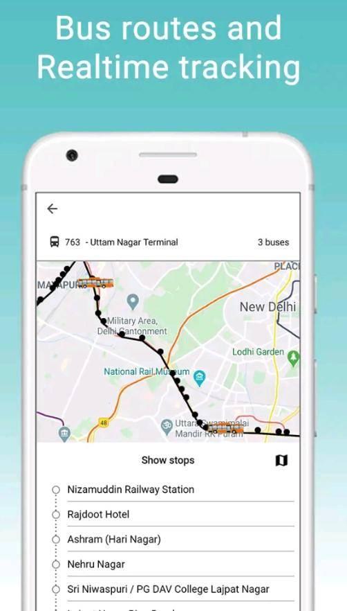 Delhi Bus/Metro Online E-Ticket Booking   Download App