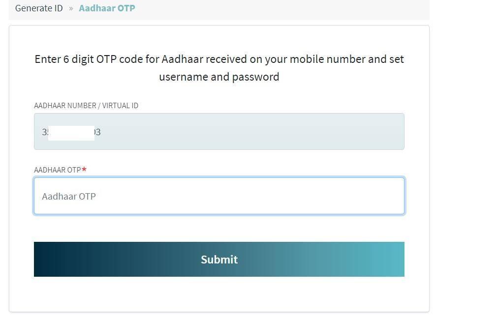 PM modi digital health ID Apply, Online Registration Form