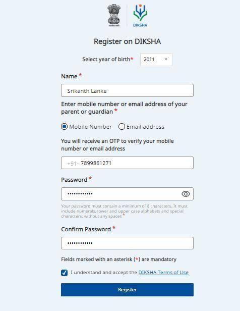 Diksha Portal Registration, Student Login, App, Course List 2021