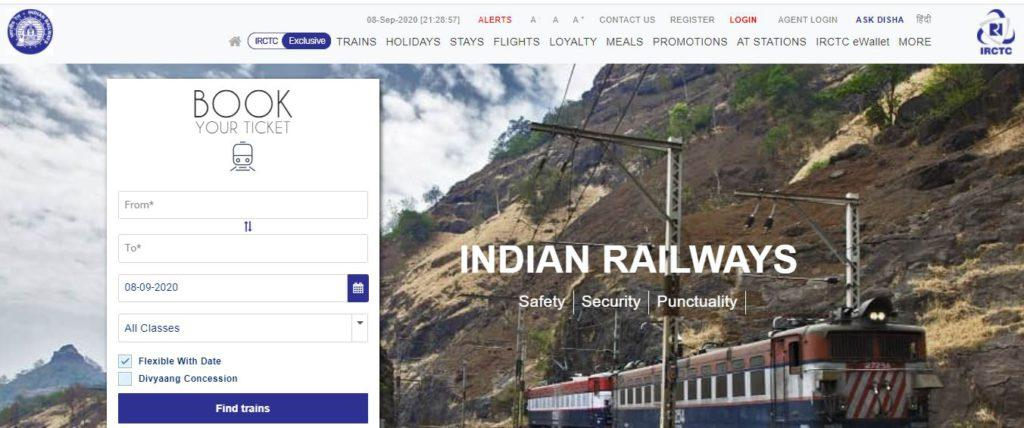 IRCTC 80 Special Train Booking