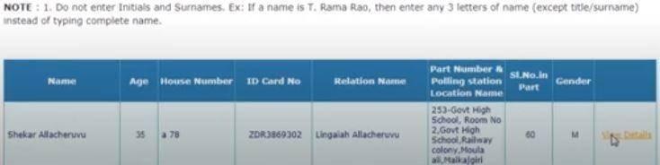 CEO Telangana, Online Voter Registration , Voter List 2021, Electoral Rolls,Name Search