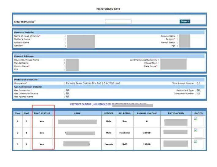 epds ap new ration card list 202021  status search