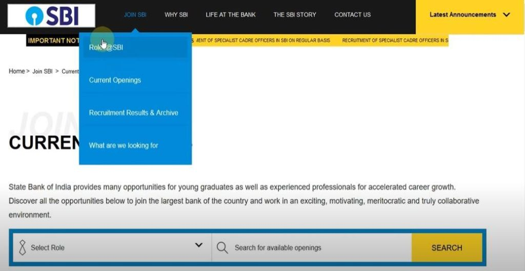 SBI Apprenticeship Recruitment 2020