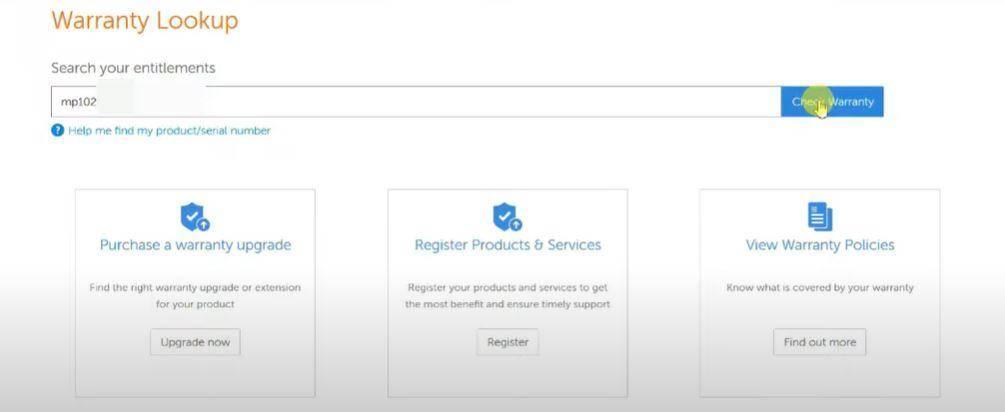 Check Warranty Status of Lenovo Laptop Online