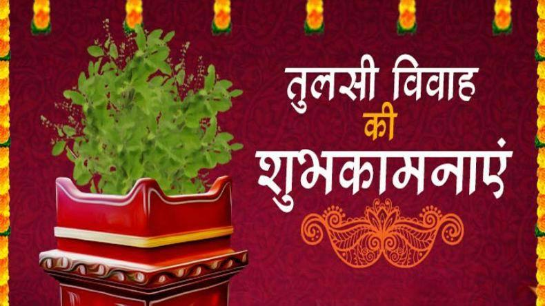 Tulasi Vivah(Devothan Ekadasi) Video Status 2021