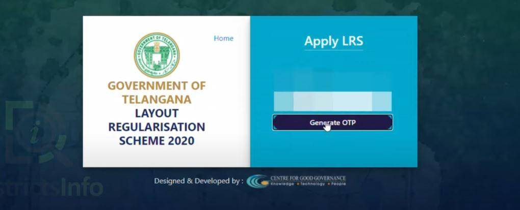 Telangana LRS/BRS Scheme Application Status