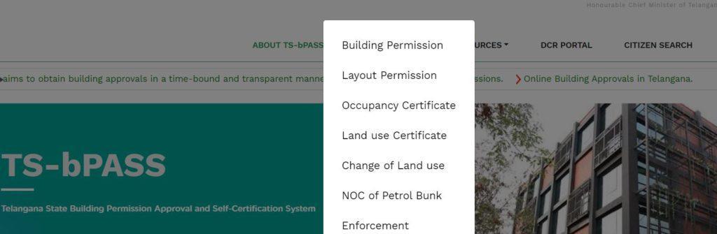 TS bPASS Website (Portal) tsbpass download
