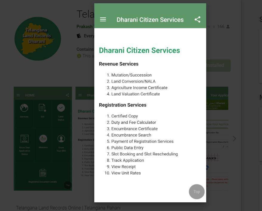 Dharani Citizen Services
