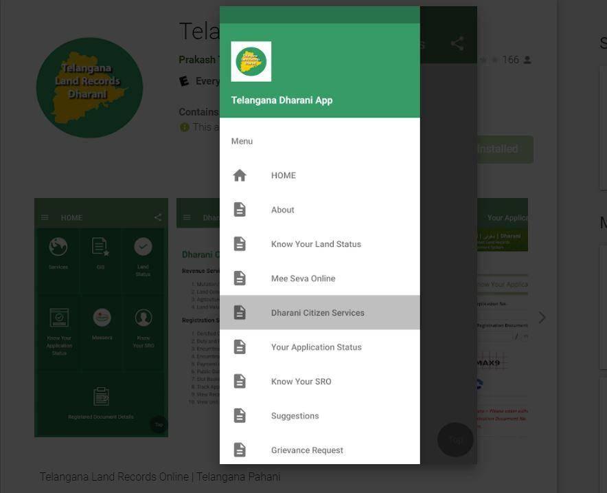 Telangana Dharani App