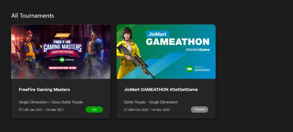 """Jio-Mediatek """"Gaming Masters"""" Tournament"""