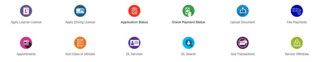 New Driving License Online Apply