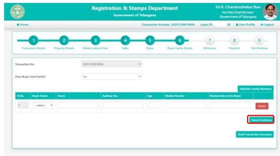 Telangana Slot Bookings NAP Online