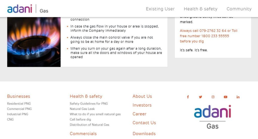 Online Application Form Adani Gas