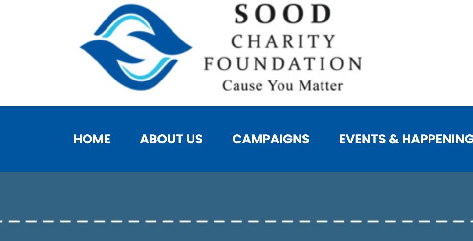 Sood Charity Foundation