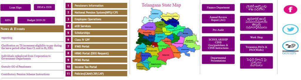 Login on DTA Telangana Portal