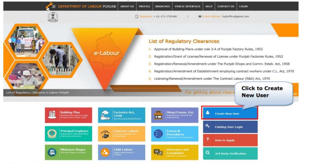 Apply Online for Punjab Labour Card Yojana