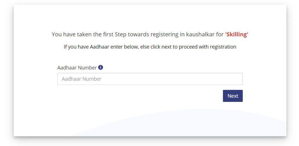 Kaushalya Karnataka Online Registration Form 2021