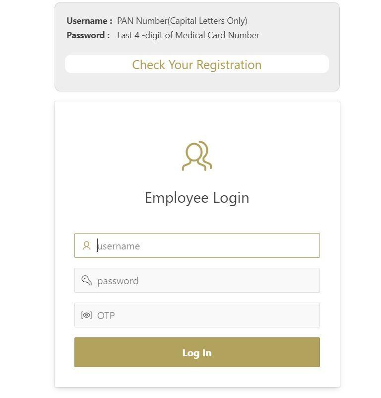 CIL Medcard Portal Login