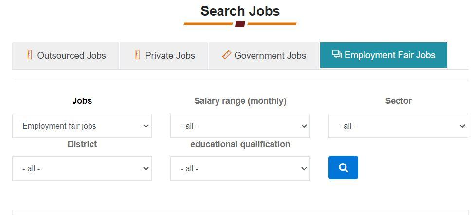 Search UP Sewa Yojana Jobs List Online