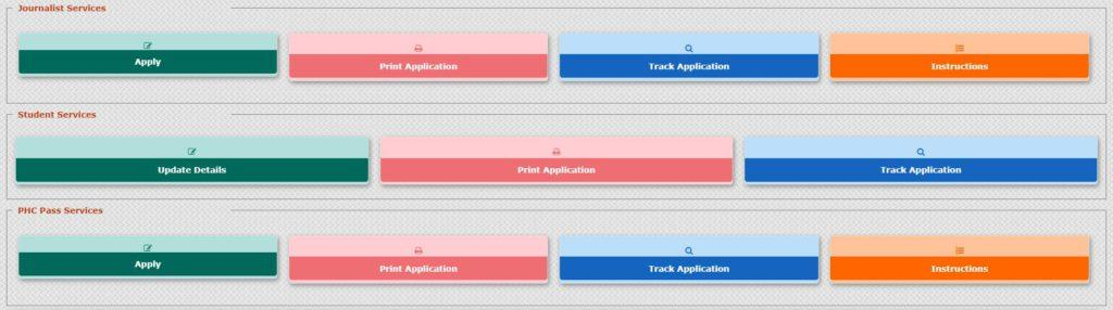 Edit and Check Bus Pass Application Status Online