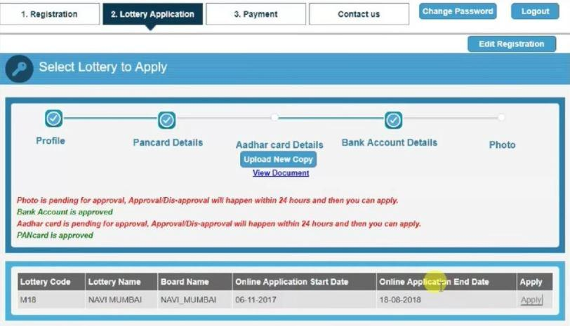Register Cidco Lottery Housing Scheme 2021