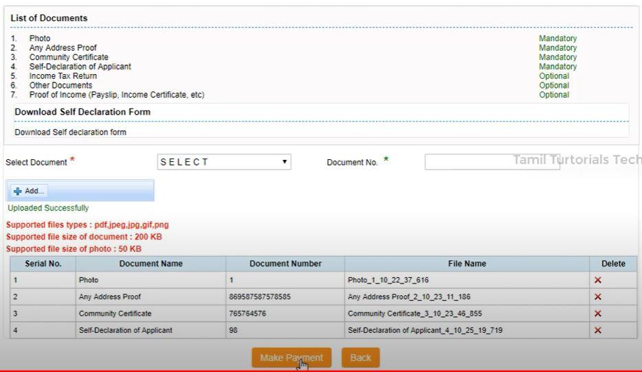 Apply / Download OBC Community Certificate Online