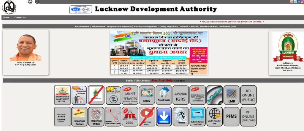 LDA Lucknow Housing Scheme 2021