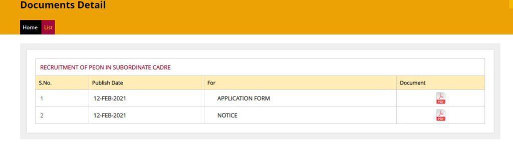 Punjab National Bank Peon Recruitment 2021