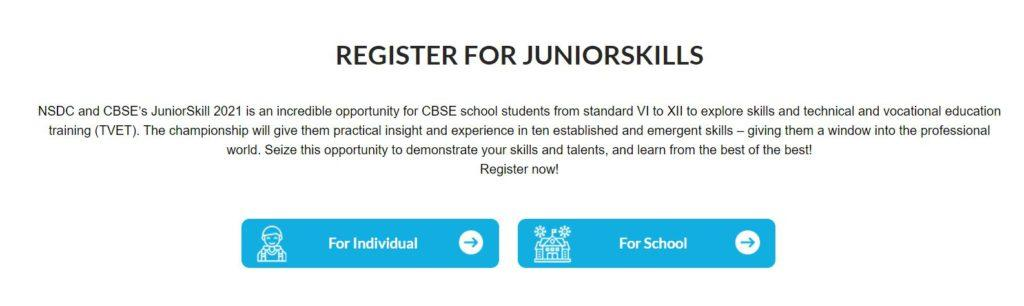 Apply for the Junior Skill Championship