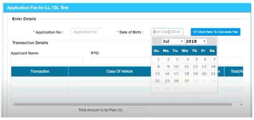 Apply for Delhi Driving License Online