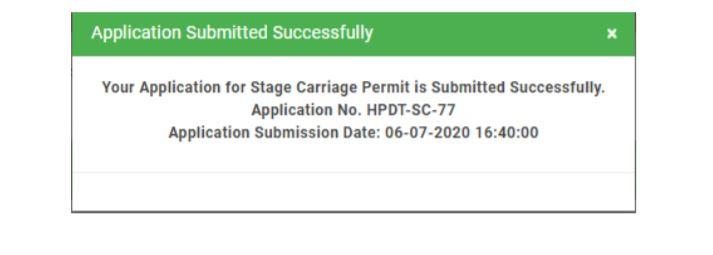 E Parivahan Vyavastha Stage Carriage Permit Services