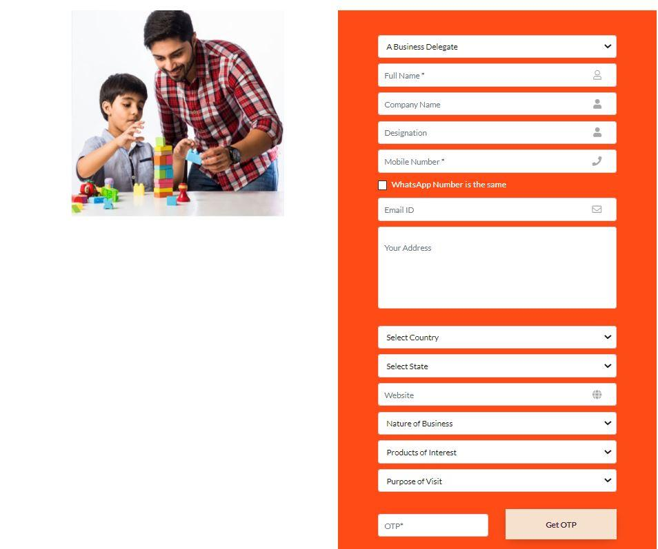 Apply Online for The India Toy Fair 2021