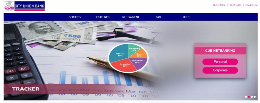 Procedure to Login CUB Online/Personal Banking