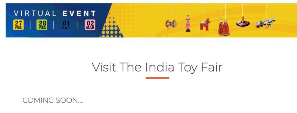The India Toy Fair Registration 2021